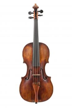 Скрипка немецкого мастера 18 века, школа Leopold Widhalm